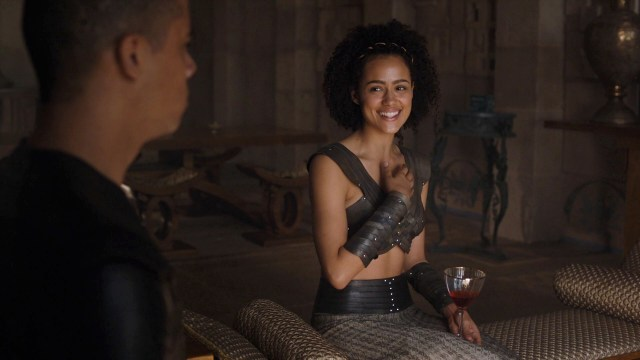 Missandei Laugh Grey Worm Season 6 608
