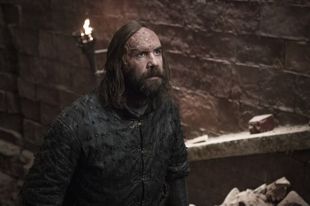 Sandor Clegane the Hound The Bells