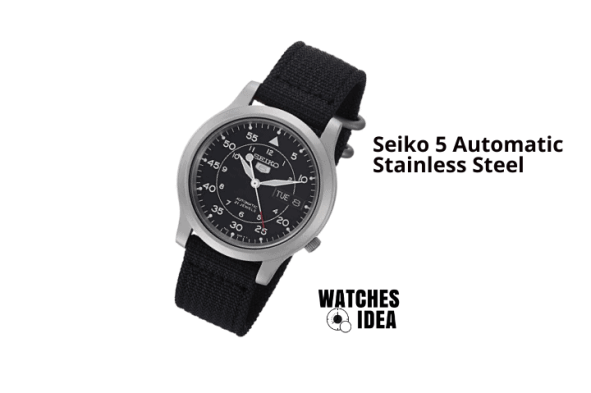 Seiko Men Automatic 5 SNK809 Watch