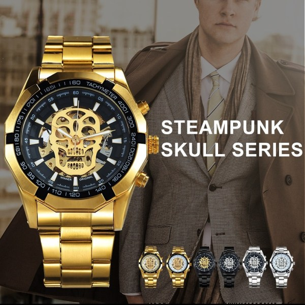 Automatic Watch Mechanical Skull Watches