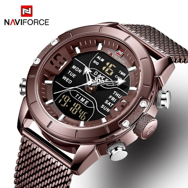 Analog Digital Watches Men
