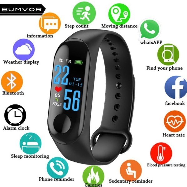 Heart Rate Monitor Smart Watch Smart Bracelet1