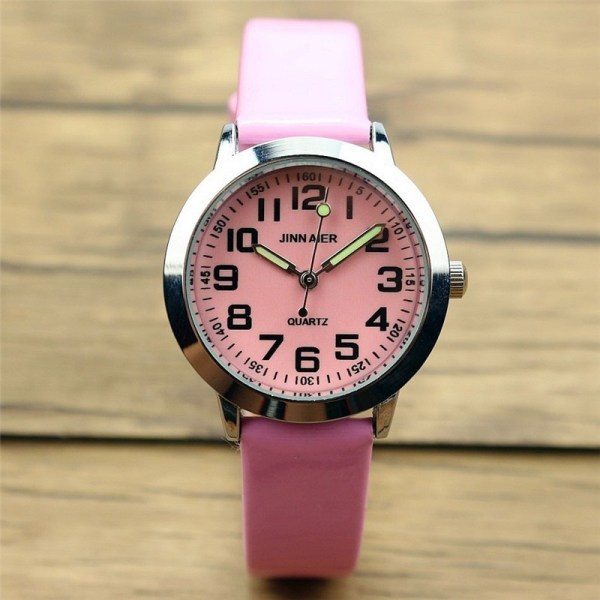 Leather Watch Luminous Quartz Watches
