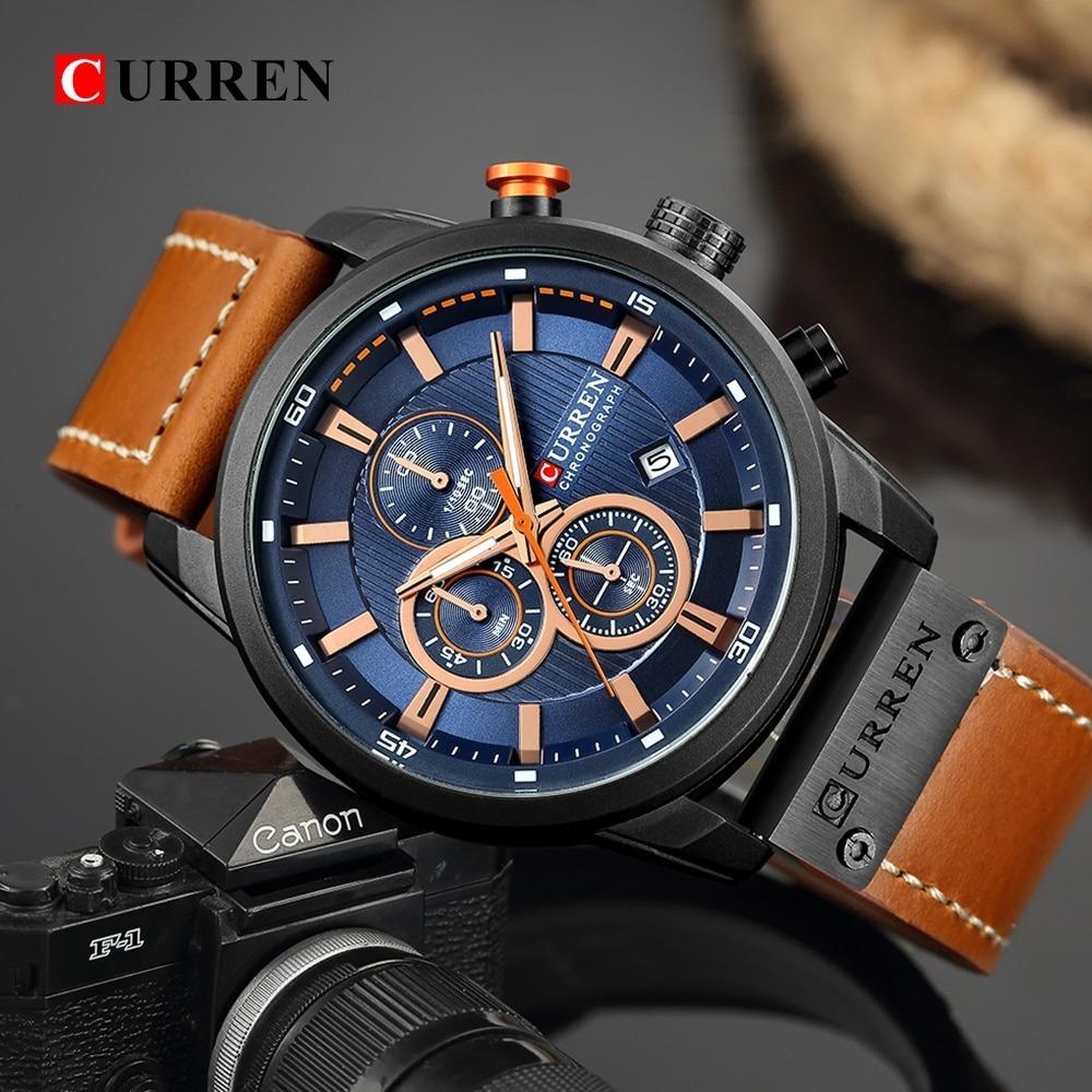 Luxury Chronograph Quartz Watch