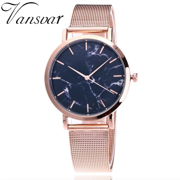 Creative Marble Wrist Watch Women