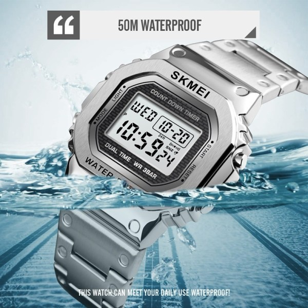 Digital Watch Outdoor Sport Wristwatch