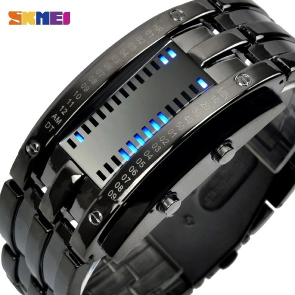 Fashion Creative Sport Watch LED Display Watches