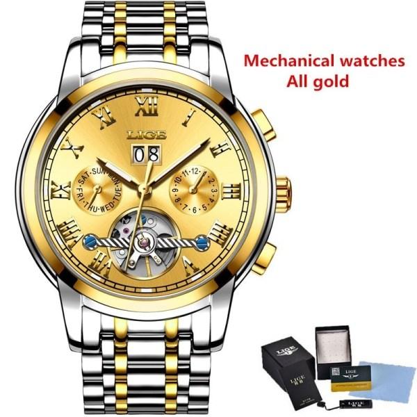 Mechanical Watch Waterproof Sport Watches