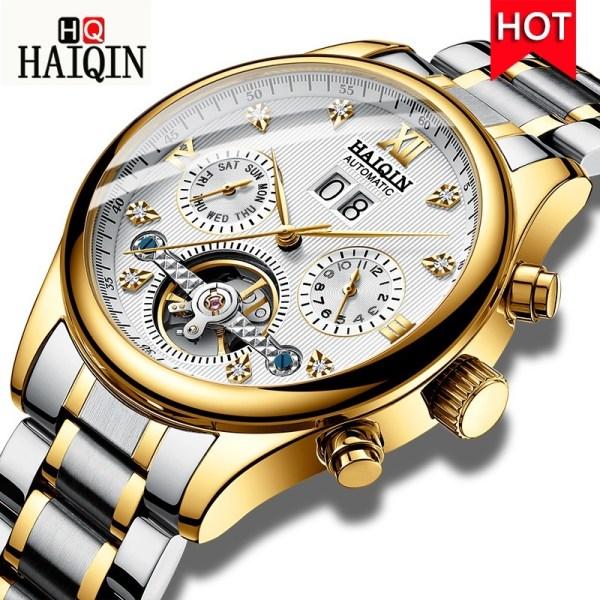 Men's Watches Automatic Tourbillon Clock