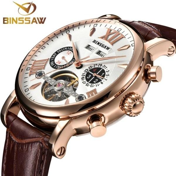 Tourbillon Automatic Mechanical Watch