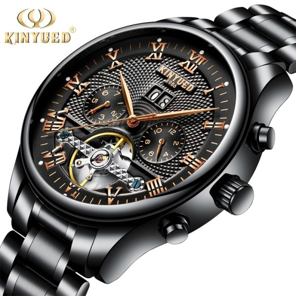 Tourbillon Mechanical Watches Skeleton Watch