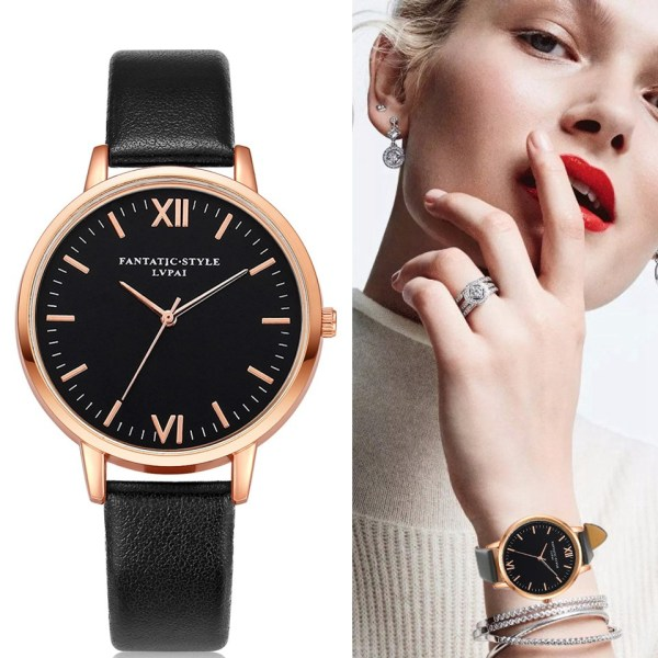 Leather Watches Classic Wrist Watch