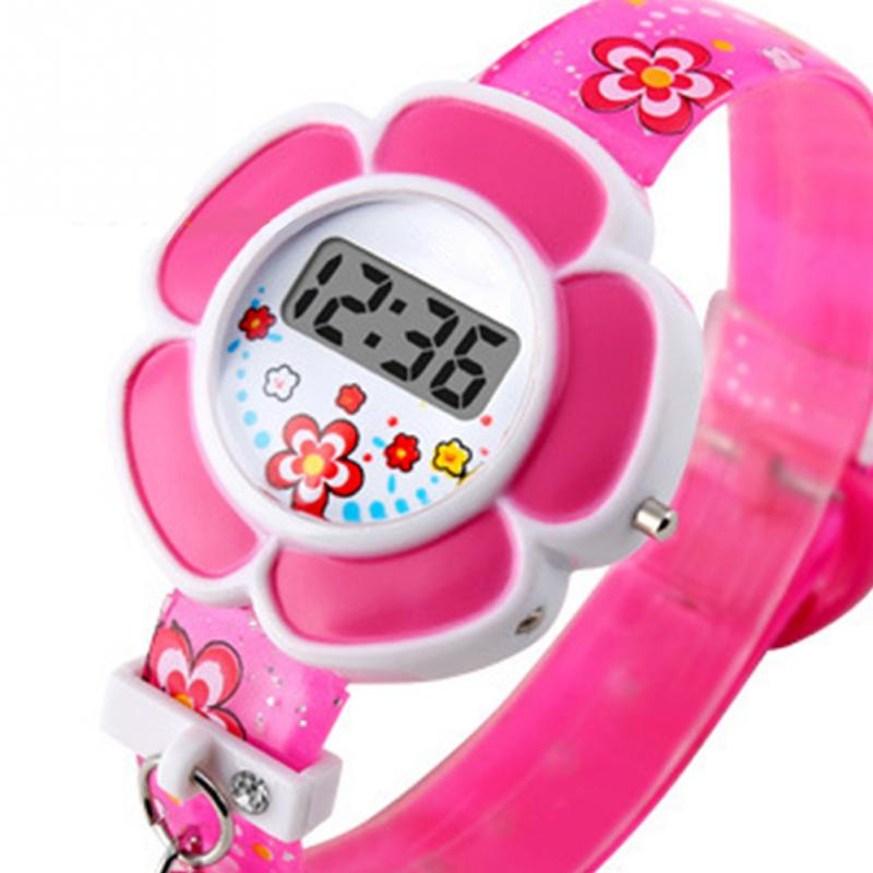 Lovely Kids Watch Flower Children Watches