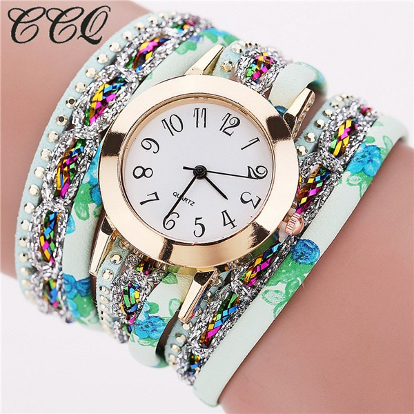 Luxury Women Multicolor Bracelet Watch