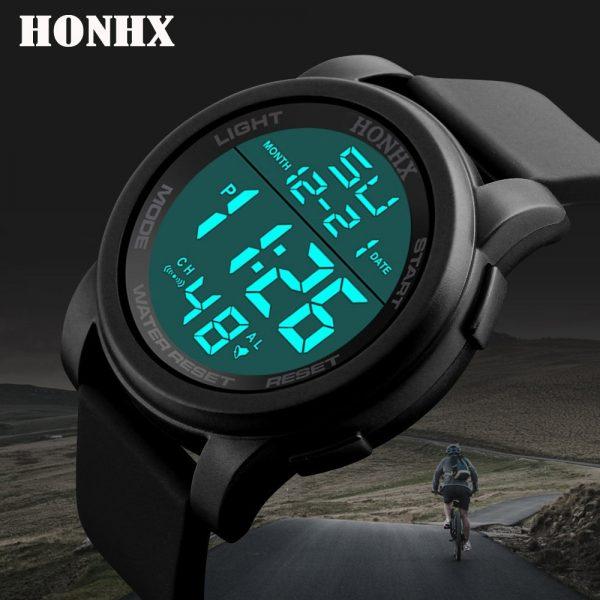 Men's Clock LED Wrist Watch