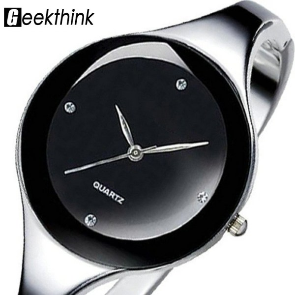 Stainless Steel Wristwatch Bracelet Ladies Watches