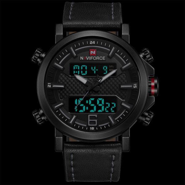 Fashion Sport Watch Leather Quartz