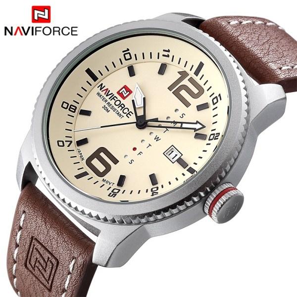Men Sport Watches Leather Wrist Watch