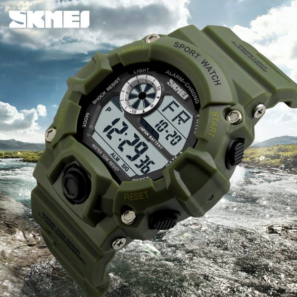 Men Sports Watches Camouflage Military Watches