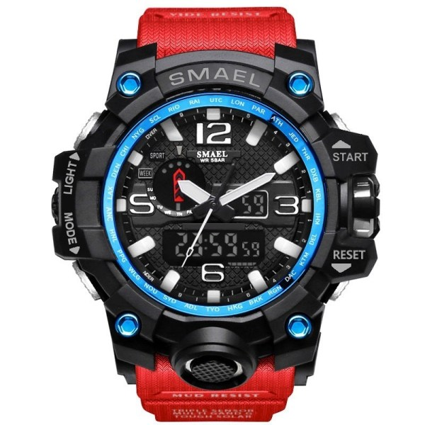 Men Sports Watches Dual Display Military Watch