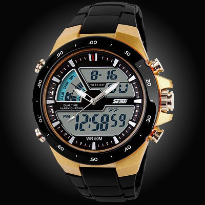Military LED Casual Watches Shock Resistant Quartz