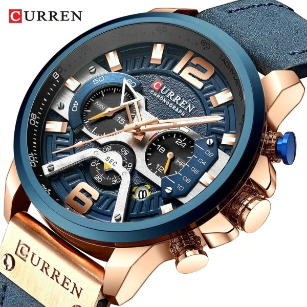 Sport Watches Men's Quartz Clock
