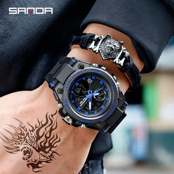 Sports Watches Military Quartz Watch