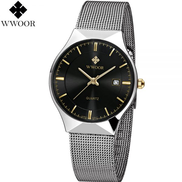 Top Luxury Watch Ultra Thin Stainless Steel