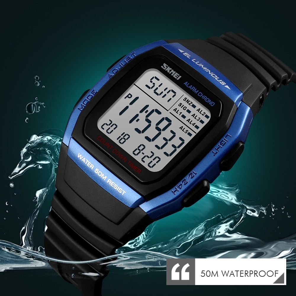 What Is Digital Watches That Is Waterproof?