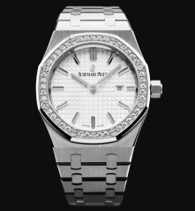 Royal Oak Cuarzo - 33 mm. Ref. 67651ST.ZZ.1261ST.01/ Calibre: 2713