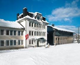 Vista actualizada de la Manufactura con sede en Le Brassus, Suiza.