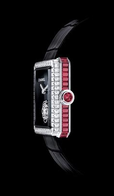 Chanel Premiére Tourbillon Volante con rubíes.