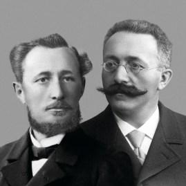 """Jules Louis Audemars junto a Edward Auguste Piguet, fundadores de """"AP""""."""