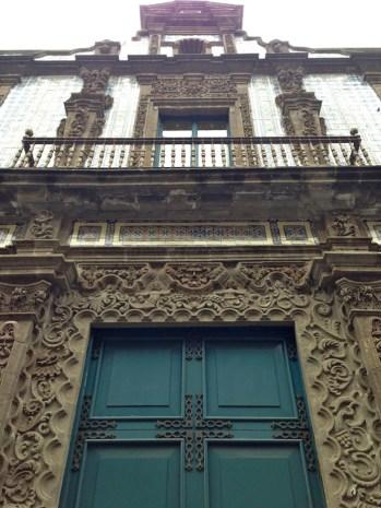 Fachada de la Casa de los Azulejos