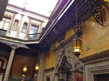Interior de la Casa de los Azulejos