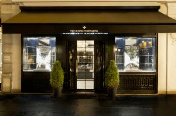 Vacheron Constantin nueva boutique en París.