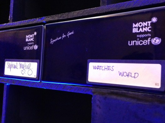 Watches World colabora ladrillo a ladrillo con Montblanc Signature for Good supports UNICEF, en favor de la educación.