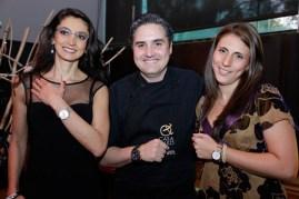 Georgina Robles, Brand Manager de MIDO México, Mikel Alonso, Director Gastronómico de Biko y Martha Fuentes, Marketin & PR Manager MIDO México.