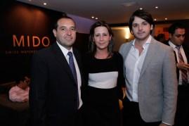 Mario Carmona, Leticia Batta y Ricardo López.