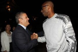 Ricardo Guadalupe, CEO de Hublot, y Kobe Bryant.