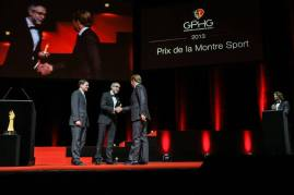 Recibe el premio Jean-Frédéric Dufour, Presidente y CEO de Zenith.