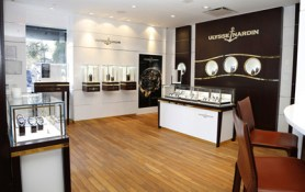 Ulysse Nardin Boutique, Hotel Ritz-Carlton Central Park, New York.