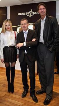 Lola Astanova, Patrik Hoffmann, Randy Johnson.