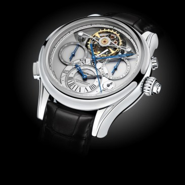Montblanc, Collection Villeret 1858 ExoTourbillon Rattrapante