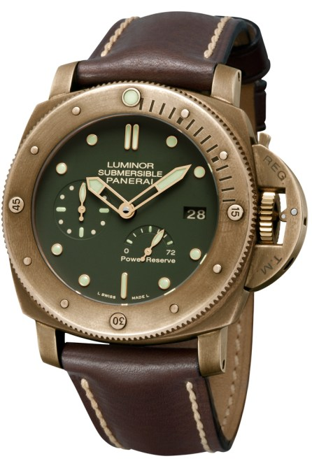 Panerai, Luminor Submersible 1950 3 Days Power Reserve Automatic Bronzo