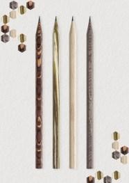 """Esta tercera versión de la colección de """"Los Colores de Caran d'Ache"""" reúne a estos 4 lápices exclusivos en un estuche elegante y contemporáneo."""