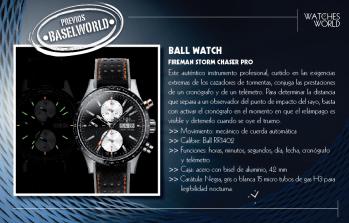 Ball Watch Fireman Storm Chaser Pro.