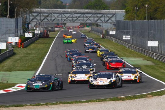 SuperTrofeo2014_Monza_rolling_start