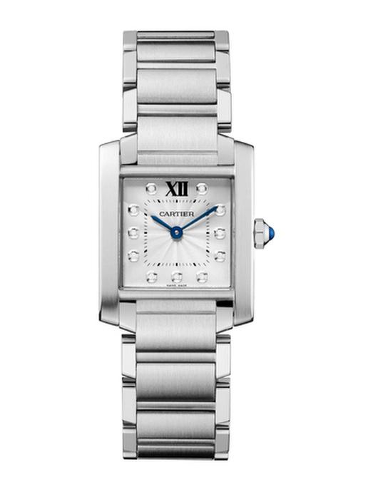Tank Francaise steel watch medium model