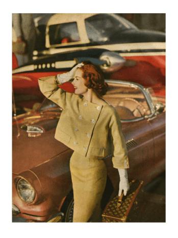 Gleb Derujinsky Harpers Bazaar 1959